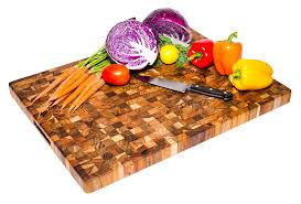 amazon com teak cutting board rectangle end grain butcher block