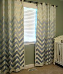 Blue Ticking Curtains Blue Ticking Stripe Curtains Living Room Design Inspiration
