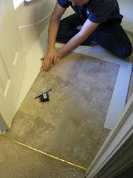 cheap bathroom flooring ideas tips for installing peel stick tile i will need this soon