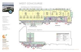 facility floor plan floor plans orange county convention center