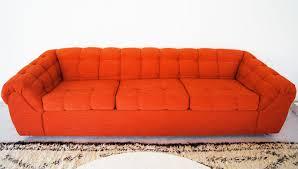 big sofa ikea amazingly re upholstered vintage trashed sofa via brick house
