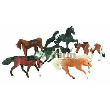 minnie whinnies breyer 300100 mini whinnies stallion collection 6 pieces