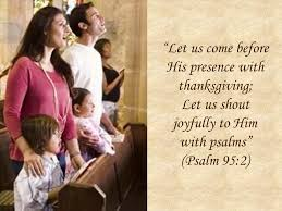 a call to worship psalm 95 1 7 let us come before his presence