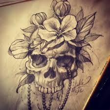 realistic skull sketch from sake realism realistic skull