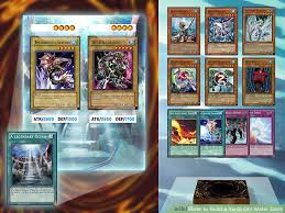 membuat game yugioh how to build a yu gi oh water deck 8 steps with pictures