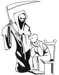 grim reaper clipart sick pencil color grim reaper clipart