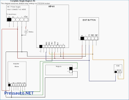 wiring diagram for door entry system how to wire access control