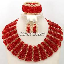 indian bridal necklace images 2016 fashionable nigerian wedding african beads jewelry sets jpg