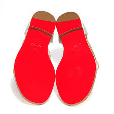 christian louboutin glitter blanca gladiator sandals 37 gold 98073