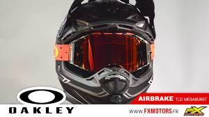 oakley new mx airbrake high oakley airbrake troy lee designs megaburst prizm 2018 youtube