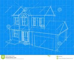 house blueprint royalty free stock photos image home construction