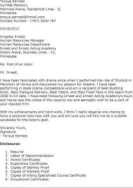 sample actress cover letter executive 40 two weeks notice letters