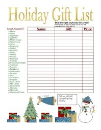 gift shopping list christmas shopping list let me help you cross one person of
