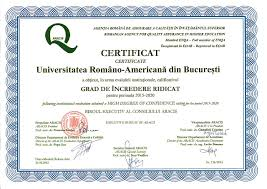 universitatea romano americana romanian american university