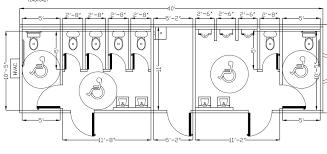 bathroom floorplans idea small handicap bathroom floor plans 13 commercial ada