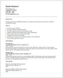 Medical Front Desk Resume Sample Cover Letter Medical Receptionist Resume Examples For Medical