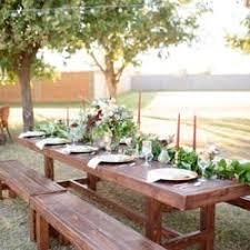 picnic table rental scottsdale farm tables 24 photos party equipment rentals