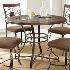steve silver toledo 5 piece dining room set in cherry beyond stores