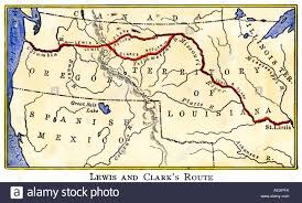 Map Of Louisiana Purchase Thomas Jefferson U0027s Presidency
