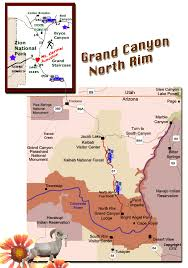 grand map grand national park map