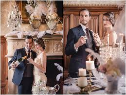 great gatsby themed wedding gatsby wedding inspiration at chateau challain