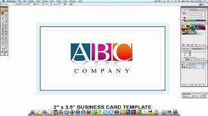 adobe illustrator tutorial professional business card design youtube