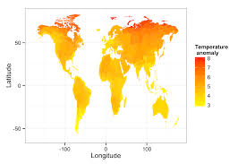 World Temperature Map by Making Maps Of Climate Change
