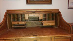 jefferson roll top desk what is an estimated value of a roll top oak desk made by b g
