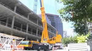 big cranes in action hd youtube