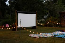 Backyard Home Theater Backyard Movie Theater Diy Home Outdoor Decoration