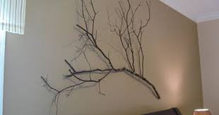 Tree Branch Decor Decorating The Walls Of Dry Tree Branches U2022 Of Course I Love
