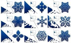 diy pretty kirigami snowflakes free template
