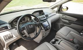 Interior Of Honda Odyssey 2014 Honda Odyssey Cars Exclusive Videos And Photos Updates