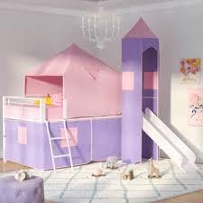 Pink Canopy Bed Girls Kids U0027 Beds You U0027ll Love Wayfair