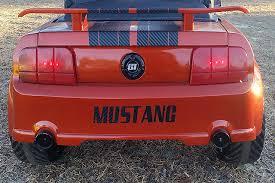 custom power wheels mustang custom power wheels mustang hits the grassy straights