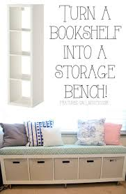 How To Do A Bookshelf 20 Easy U0026 Creative Furniture Hacks With Pictures Storage