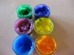 homemade finger paints 4 steps with pictures