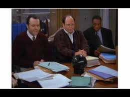 George Costanza Under Desk George Goes Out On A High Note Youtube