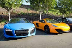 Audi R8 Matte Black - file matte blue audi r8 and orange mclaren mp4 12c 8666058275