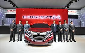 what is the luxury car for honda honda unique 2014 honda m concept civic type r blue 02 side m