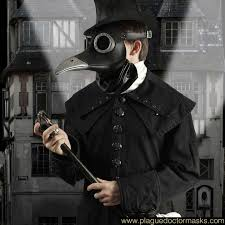 plague doctor costume steunk bubonic plague doctor mask costume international shipping