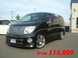 nissan elgrand australia parts iron chef imports biannual bargain hunt july 2016 edition
