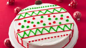 ornament cakes recipe bettycrocker