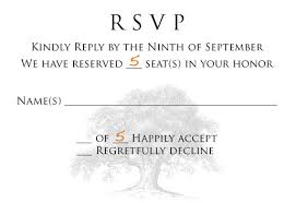 Response Card Wording Wedding Rsvp Number Of Guests Tbrb Info