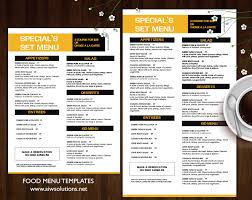 bar menu template u2013 aiwsolutions