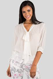ivory silk blouse standards practices s ivory neck tie sheer blouse