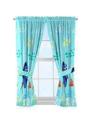 Disney Shower Curtains by 32281286552 Finding Dory Disney Nemo Blue Window Panel Drape