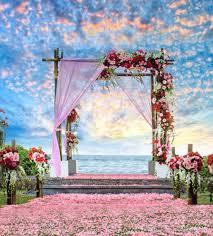 wedding backdrop design philippines 2018 beautiful sky clouds outdoor scenic summer wedding