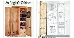 Fishing Rod Storage Cabinet Fishing Rod Storage Cabinet Plans Imanisr