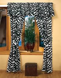 Zebra Room Divider Bedroom Stylish Black And White Zebra Print Curtains Home Decor